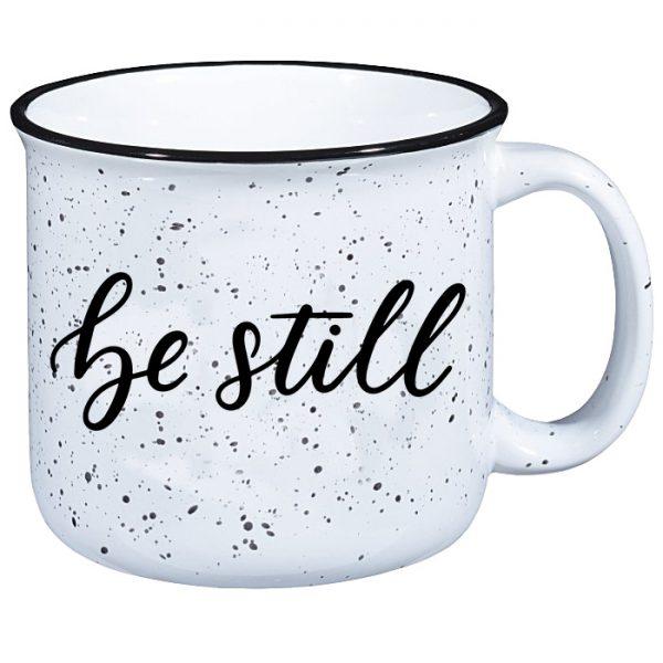 Be Still Campfire Mug